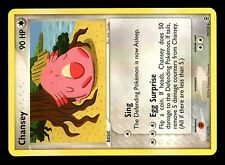 POKEMON RARE RED FIRE LEAF GREEN N°  19/112 CHANSEY