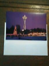 Set Of 2 Holidays Cards Seattle Center From Seattle Washington
