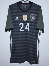 Germany National Team away player issue shirt 15/16 #24 Adidas Size L Adizero