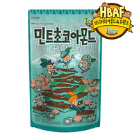 Toms Gilim Mint Choco Almond 190g Korean Seasoned Nut Snack