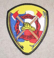 "Cameron Fire Rescue Patch - Texas - 4"" x 5"""
