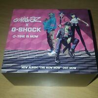 Rare Limited Gorillaz X- G-SHOCK DW-5600HRGRZ-1ER Watch With Tranz Remix