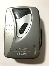 Gpx Am/Fm Cassette Personal Stereo C3125 Works Great