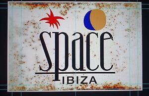 Space Ibiza Vintage Style Metal Sign