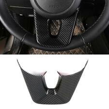 For Kia Seltos 2019 2020 Car Interior Steering Wheel U Shape Decor Cover 1PCS
