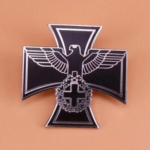 WW2 German eagle Iron Cross Pin Badge