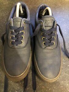Ralph Lauren Polo Nubuck Casual Shoes  Size 8