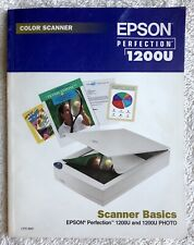 Epson perfection 1200u color scanner