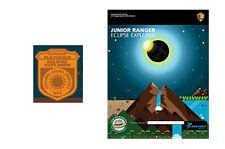 RARE! LIMITED SUPPLY LEFT!   (1) National Park Eclipse Jr Ranger Badge & Book