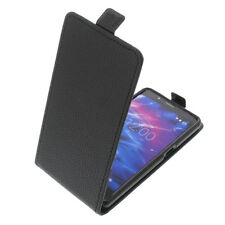 Tasche für MEDION S5004 FlipStyle Handytasche Schutz Hülle Flip Case Schwarz