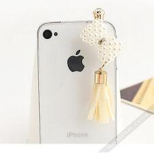 Smartphone Schmuck Stecker StaubSchutz Handy Geschenk Idee Kopfhörer Dust Plug