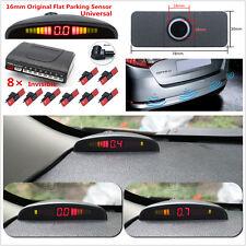 Car LED Parking Sensor Front Rear 8 Sensors For Car Reverse Radar Monitor System