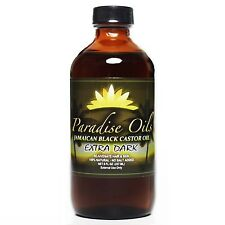 Paradise Oils Jamaican Black Castor Oil 8oz EXTRA DARK 100% Natural FREE SHPPING