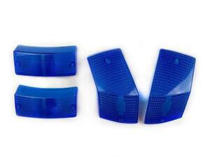 Vespa PX PE T5 LML 125 150 200 Indicator Lens Set Blue
