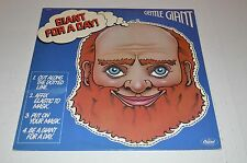 Gentle Giant - Giant for a Day  LP   SW-11813 w/mask orig inner sleeve