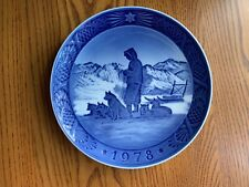 Royal Copenhagen 1978 Christmas Plate - Greenland Scenery