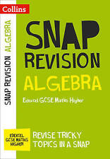 Algebra (for Papers 1, 2 and 3): Edexcel GCSE Maths Higher by Collins GCSE...
