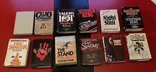 Vintage Stephen King Book Club Edition Lot Hardcover  Bachman Books  Shining