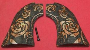 Heritage Arms Rough Rider Wood Grips .22 lr / .22 mag Roses WW
