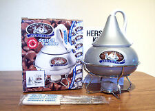 NEW 2007 HERSHEY'S 100th ANNIVERSARY LIMITED EDITION DESSERT FONDUE SET - SILVER