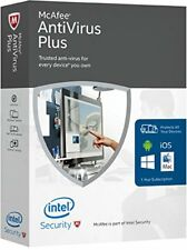 McAfee Antivirus Plus 2018 10 PC 12 Months License Antivirus 10 users