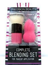 Precision Beauty Complete Blending Set (Brush & Sponge) | NIP NEW Hypoallergenic