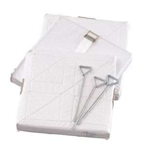 FOAM FILLED QUILTED COVER BASE SET WITH 1 STRAP