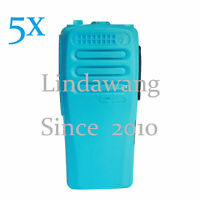 Lot5 Replacement Front Case Housing Cover for Motorola CP200d 2Way Radio BLUE