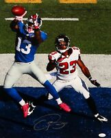 Odell Beckham Autographed 16x20 Giants Against Falcons Photo- JSA W Auth