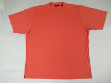 SCOTT BARBER - 2XL - SALMON/RED T-SHIRT - W1608