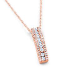 Collares y colgantes de joyería sin tratar diamante