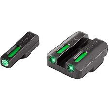 New Authentic Truglo TFX Sight CZ 75 Set Pro ORN, Black, Model: TG13CZ1PC