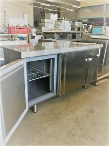 15/00213 Bäckerei-Tiefkühltisch-Euronorm MR1620BT Edelstahl Umluftkühlung 405 L