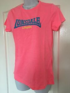 BNWT WOMENS LONSDALE T-SHIRT SIZE 12