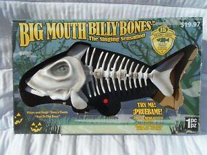"""Big Mouth Billy Bones Singing Skeleton """"Bad To The Bones"""""""