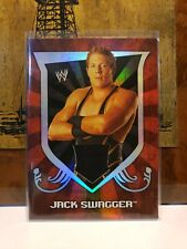 2011 Topps Classic WWE Jack Swagger Event Worn Shirt Relic Card