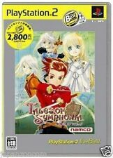 Used PS2  Tales of Symphonia SONY PLAYSTATION JAPAN IMPORT