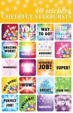40- Student Reward Stickers For Teachers Encouragement For Kids Homeschool