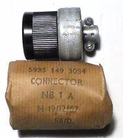 Plug Female 2 pôles Twist-Lock US NOS HUBBELL 20A 250 volts