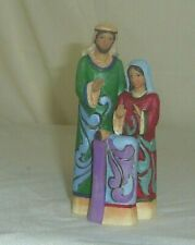 Miniature Holy Family 2014 Jim Shore 3in Christmas holiday figurine 4041103