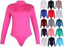 Waist Length Polo Neck Long Sleeve Tops & Shirts for Women