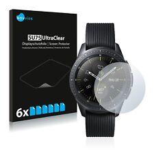 6x Displayschutzfolie für Samsung Galaxy Watch (42 mm) Klar Schutzfolie