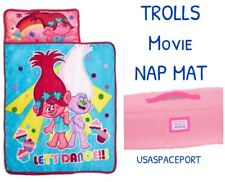 TROLLS Poppy Pink NAP MAT Toddler Daycare Pre-school K BLANKET+PILLOW Set Girls