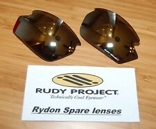 Authentic Rudy Project Rydon lenses NEW - Laser Black