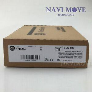 New Sealed Allen Bradley 1746-NI4 SER A 1746NI4 Analog Input Module SLC 500 USA