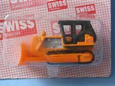 Matchbox Swiss Promo Caterpillar Bulldozer Cat Orange Toy Car