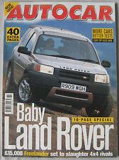 AUTOCAR magazine 3/9/1997 featuirng BMW Z3, Porsche Boxster, Land Rover, Citroen