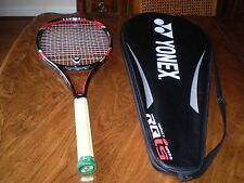yonex RQiS1 Tour tennis racquet isometric strings with yonex cover unisex
