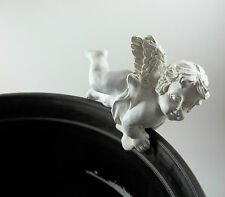 Cherub Angel Fairy Hangers Huggers Shelf Sitter Flower Pot Garden Figurine #6