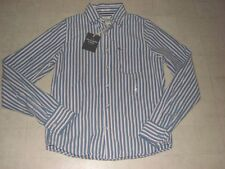 ABERCROMBIE Muscle Classic Dress Stripe Polo Shirt For Men Multicolor M- NWT $70